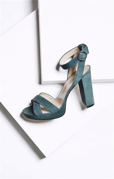High Heel Platform Sandals lea high heel suede platform sandal