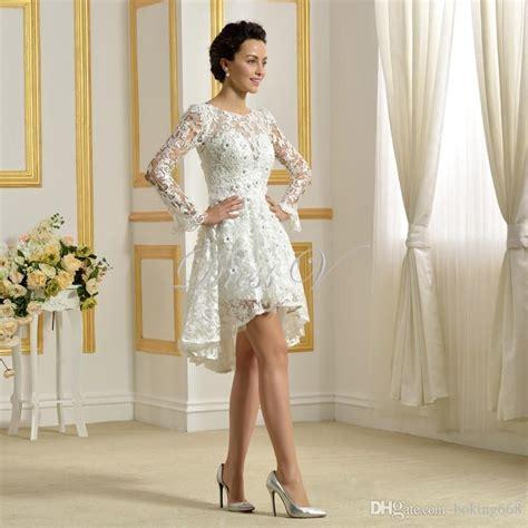 Dress Giardino Grdn 433 lace white simple garden wedding dresses knee length bridal bliss