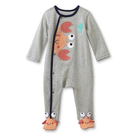 Footed Sleeper Pajamas by Wonders Newborn Boy S Footed Sleeper Pajamas Crab