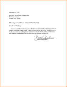Letter Of Resignation From Church Position by 4 Resignation Letter Sle Effective Immediately Budget Template Letter