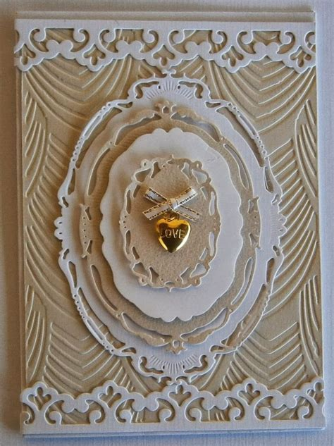 Crafty Kayes Room: Brides Card spellbinders dies and