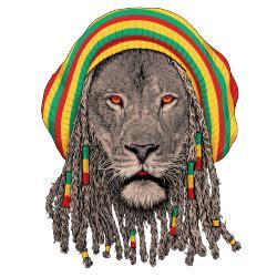 Tshirt Kaos Baju Marijuana 4 20 rasta seekor raja hutan yang menjadi rastamania
