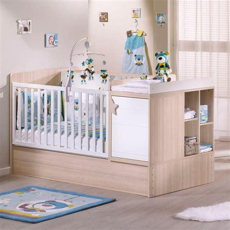 chambre de bébé aubert lit chambre transformable 70x140cm de sauthon