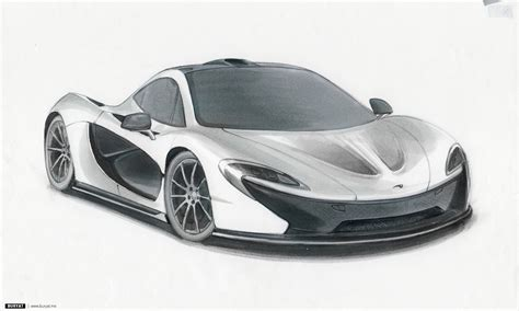 mclaren drawing mclaren p1 wallpaper johnywheels com