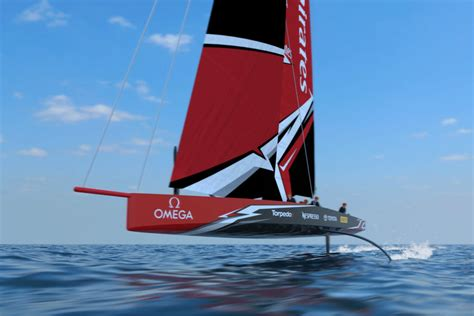 bateau safran quille vid 233 o le futur bateau de la coupe de l america sera un