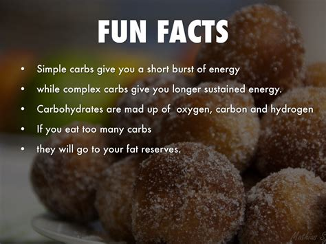 7 facts about carbohydrates carbs by devin shaughnessy