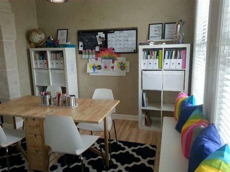 Homeschool Dining Room by Homeschool Room Homeschool Rooms And Storage