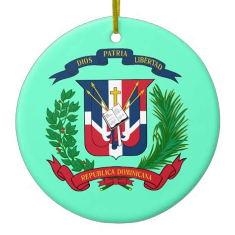 dominican republic christmas ornament zazzle