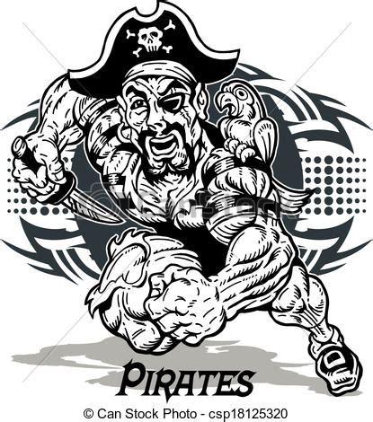 ilustra 231 227 o vetorial de tribal pirata desenho csp18125320