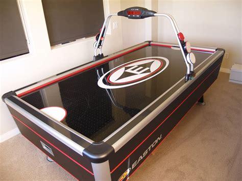 wood air hockey table easton 8 carbon air hockey table bloodydecks