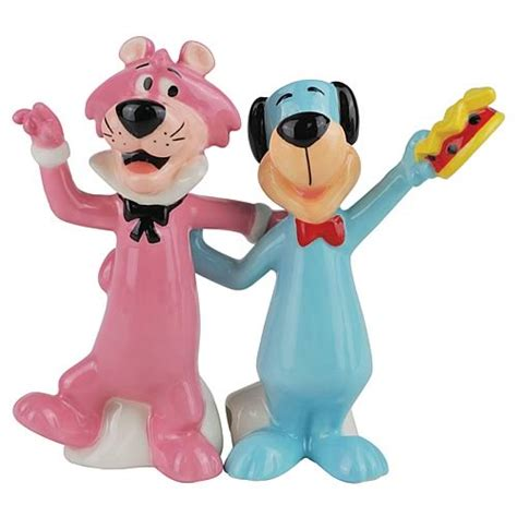 yakky doodle name change huckleberry hound and snagglepuss salt and pepper shakers