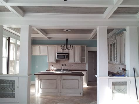 bungalow renovated beach house kitchen beach
