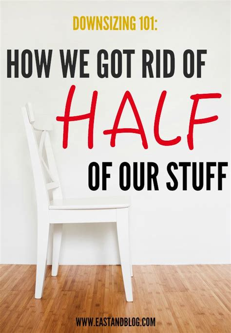 downsizing design tips for moving to a smart stylish downsizing 101 how we got rid of half of our stuff