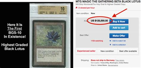 magic gathering black lotus die wertvollsten magic the gathering karten der welt