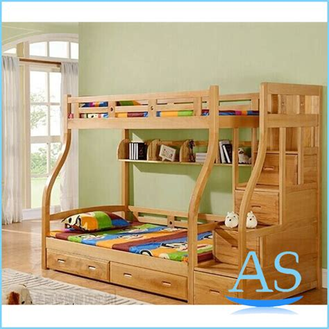 kids double bed 2015 china good quality wooden kids bunk bed children
