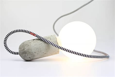 Nud Pendant Light Base Concrete Socket By Nud 187 Retail Design