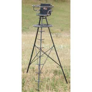 Elevated Deer Blinds 13 The Apex Tower Stand From Big Game 174 Treestands