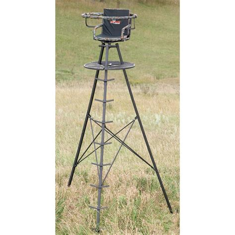 big treestands 13 the apex tower stand from big 174 treestands 167468 tower tripod stands