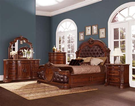 homelegance antoinetta upholstered bedroom set warm