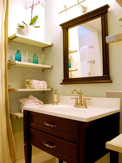 bathroom ideas in small spaces 10 smart design ideas for small spaces hgtv