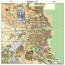 Ogden Utah Map by Ogden Utah Street Map 4955980
