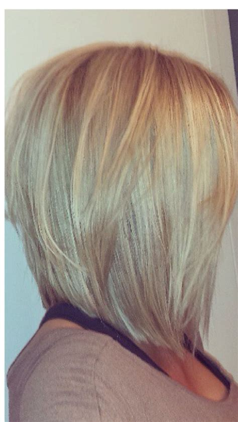 shoulder length inverted bob haircut over 50 25 best ideas about medium stacked haircuts on pinterest