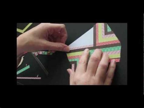 herringbone pattern youtube tutorial on how to make herringbone pattern out of