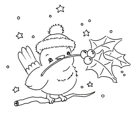 coloring pages birds in winter 112 best images about coloring activity pages christmas