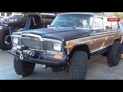 sema jeep grand jeep grand wagoneer sema
