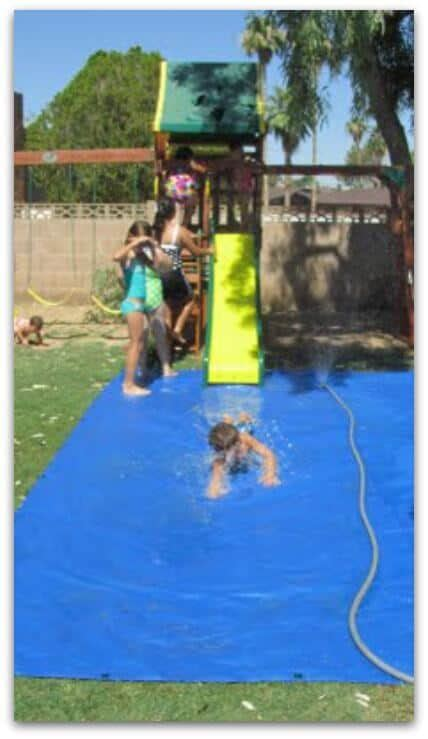 backyard slip and slide backyard ideas these diy ideas will make summertime a blast for you and your family