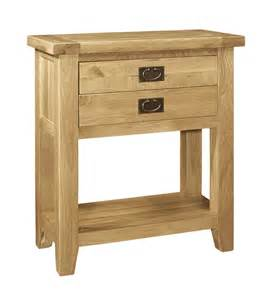 Small Oak Console Table Farmhouse Oak Small Console Table Hshire Furniture