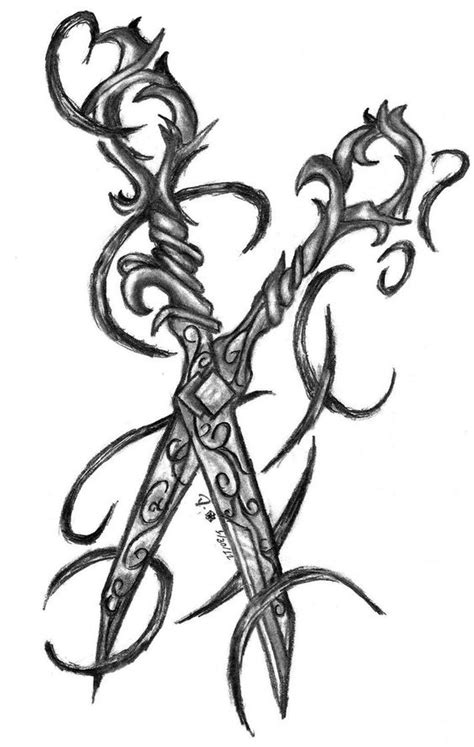 scissors tattoo google search wish list pinterest