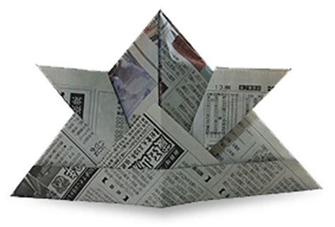 Origami Hat Samurai - origami samurai hat