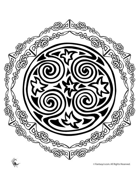celtic mandala coloring pages free celtic mandala coloring pages coloring home