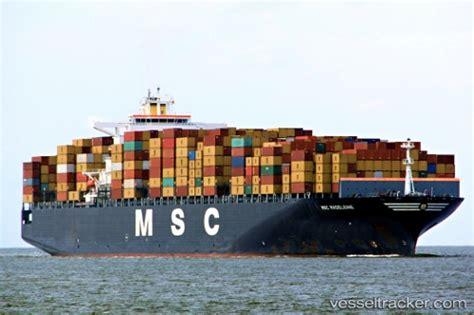 msc vessel schedule to msc madeleine type of ship cargo ship callsign 3efr7