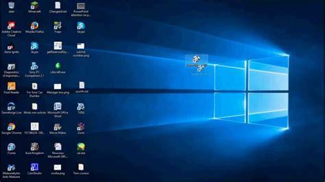 r馘uire les icones du bureau tuto comment d 233 placer les ic 244 nes du bureau sur windows