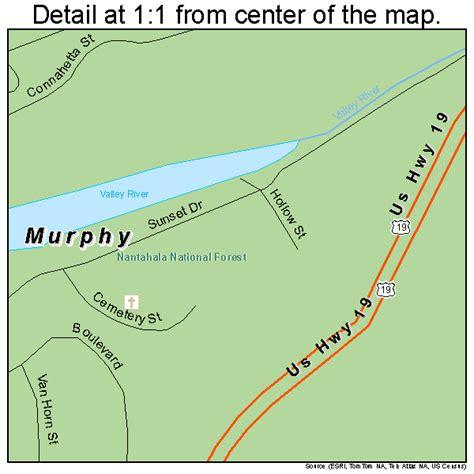 map of murphy carolina murphy carolina map 3745660