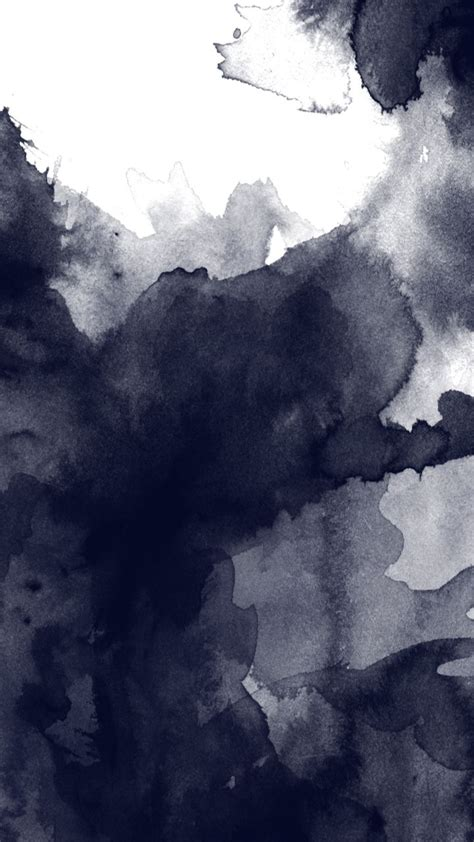 black  white watercolor abstract art tap