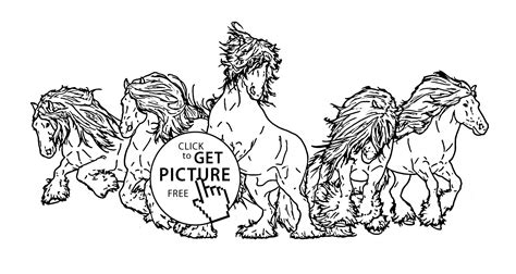 herd of horses coloring pages 81 herd of horses coloring pages inspiring horse