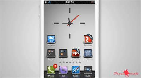 iphone hacks themes i can help you theme review aegis white for iphone