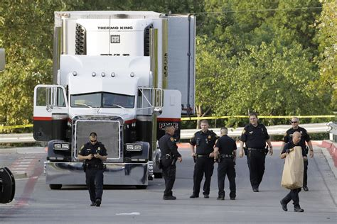 trailer san s day migrants die in a tractor trailer on point