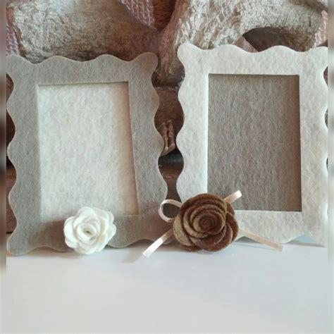 cornici in feltro portafoto in feltro per la casa e per te decorare casa
