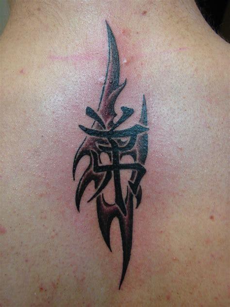 tattoo tribal kanji tattoo tribal kanji