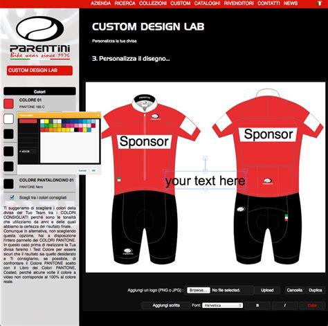design lab introduction parentini bike wear custom design lab