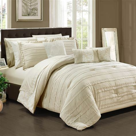 chic home design bedding chic home design 10 pc bed in a bag set bedding
