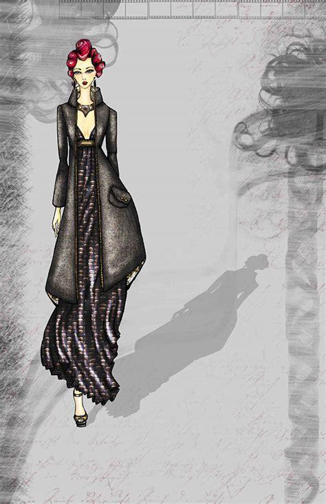 fashion illustration photoshop photoshop enhanced fashion illustrations on behance