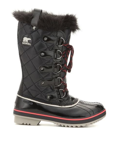 Sorel Tofino Cate Quilted Boot by Sorel Tofino Quilted Snow Boots In Black Save 31 Lyst