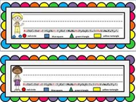 1000 Images About Student Name Plates On Pinterest Name Desk Plates For Students