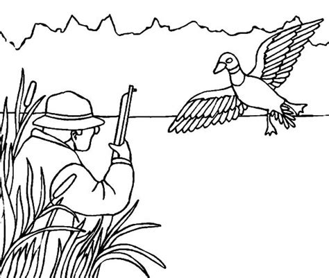 coloring pages of deer hunters hunting coloring pages coloringsuite com