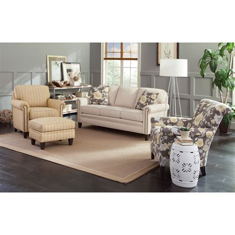do you keep the furniture on property brothers smith brothers 234 traditional chair and ottoman with tapered legs dunk bright furniture